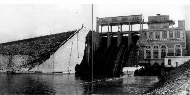 Широковская ГЭС на реке Косьва