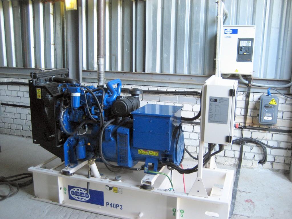 Резервный генератор 4