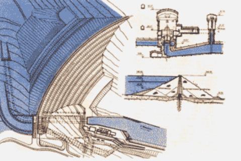 Схема Тельмамской ГЭС